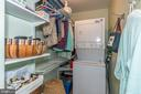1st Floor  Master Suite Laundry& Walk in Closet - 7 MILL FORGE CT, THURMONT