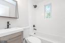 Main Floor Hall Full Bath - 9113 WALDEN RD, SILVER SPRING