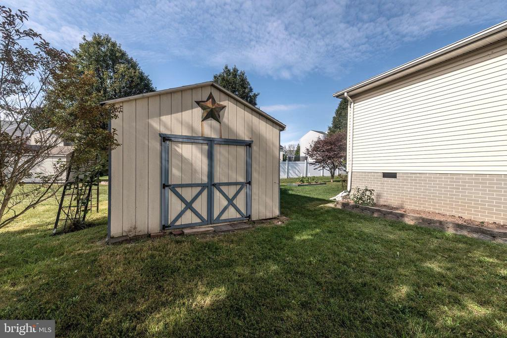 10'x20 Storage Shed - 7 MILL FORGE CT, THURMONT