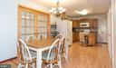 Breakfast Area and Kitchen, View 2 - 7 MILL FORGE CT, THURMONT