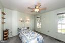 1st Floor Master Suite Bedroom - 7 MILL FORGE CT, THURMONT