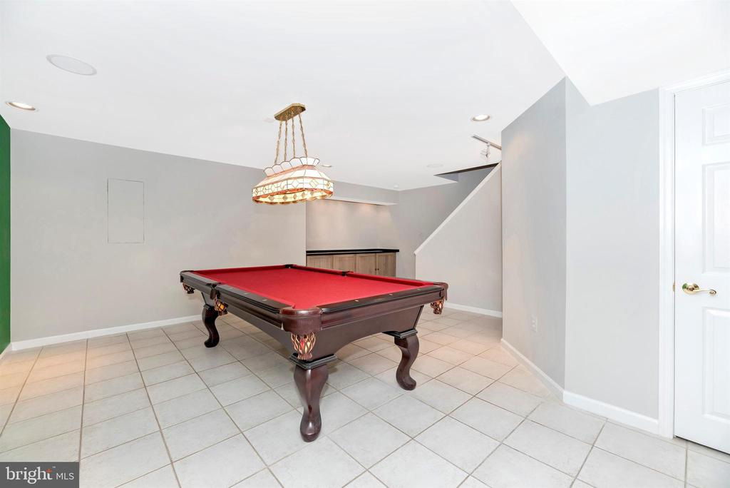 Lower Level Game Room - 8904 KNOLLWOOD WAY, FREDERICK