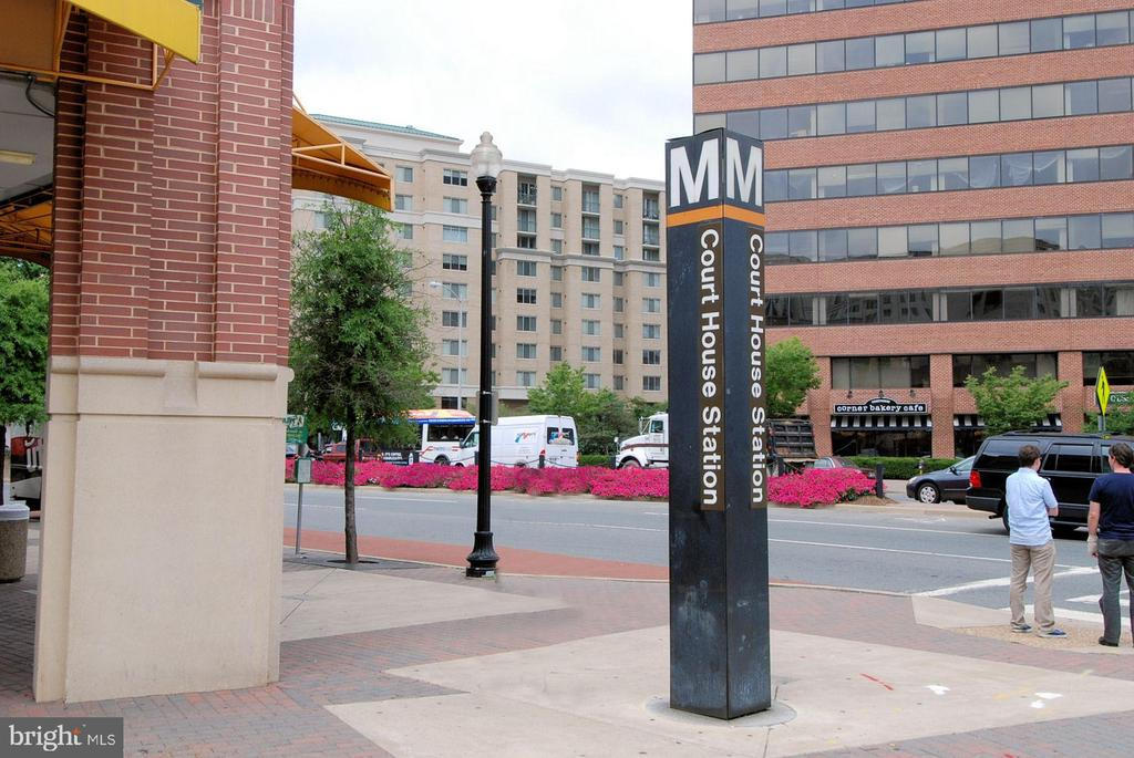 About 1/2 mile to the metro - 1276 N WAYNE ST #805, ARLINGTON