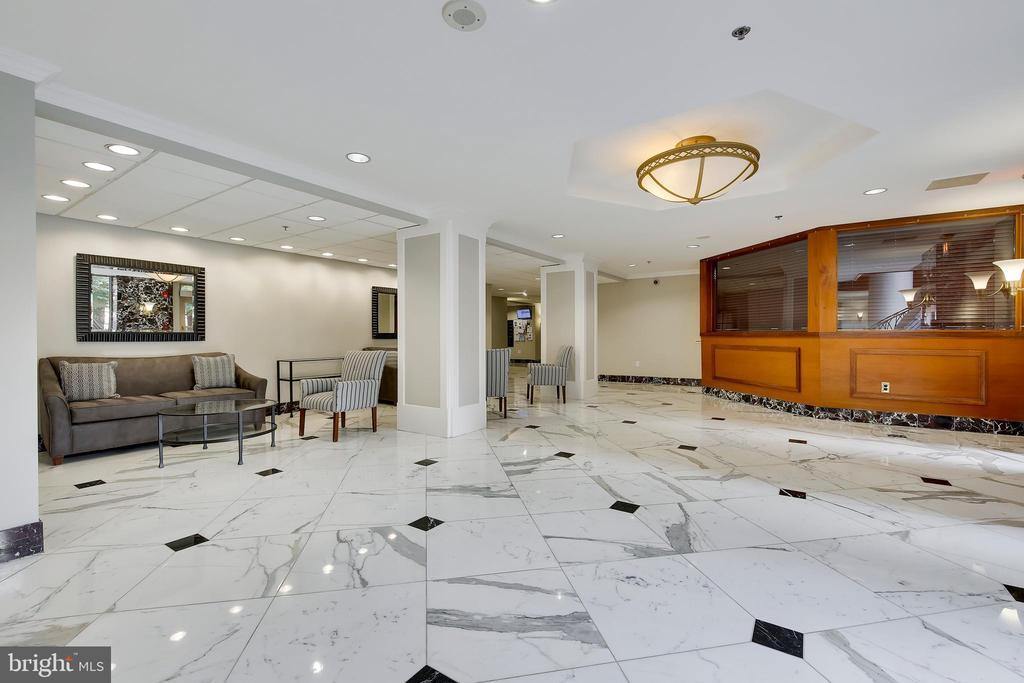 Lobby - 1276 N WAYNE ST #805, ARLINGTON