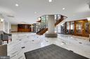 Lobby - stairs to the exercise and game rooms - 1276 N WAYNE ST #805, ARLINGTON