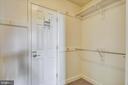 Walk in closet - 1276 N WAYNE ST #805, ARLINGTON