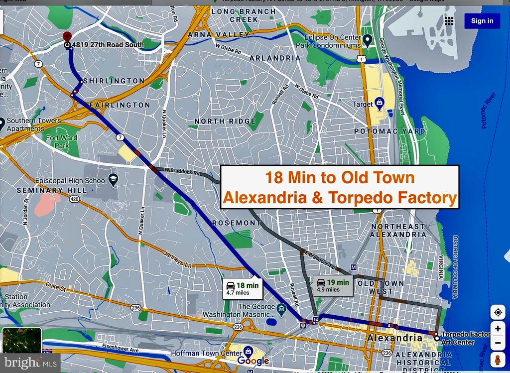 18 Min to Old Town Alexandria & Torpedo Factory - 4819 27TH RD S #2503, ARLINGTON
