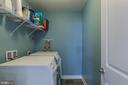 Laundry Room upstairs - 16928 TAKEAWAY LN, DUMFRIES