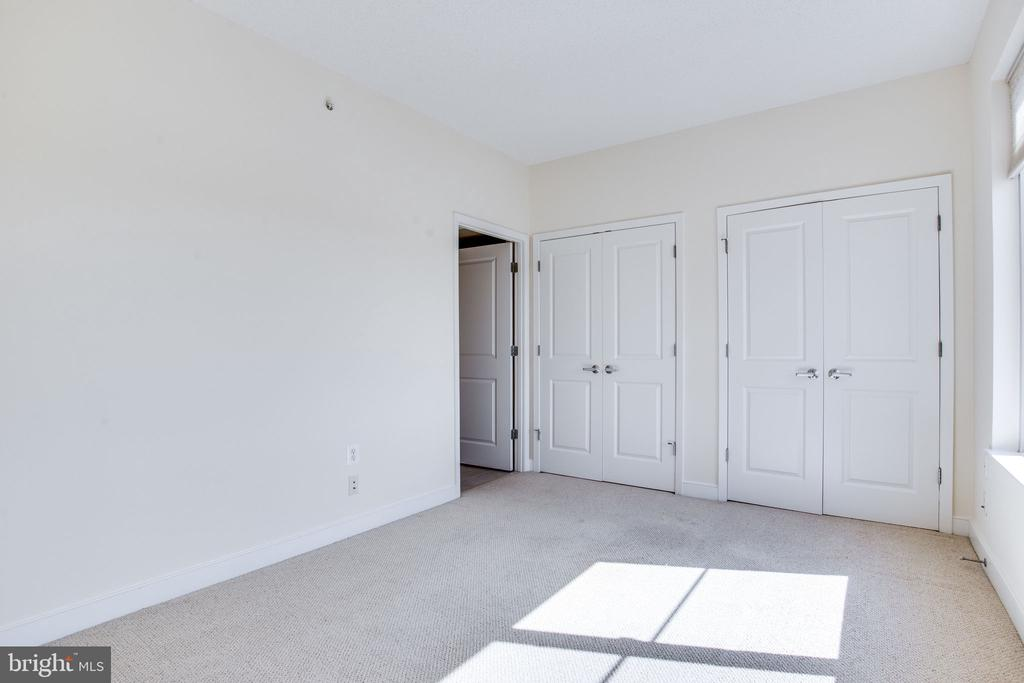 closets galore in the master bedroom - 820 N POLLARD ST #504, ARLINGTON
