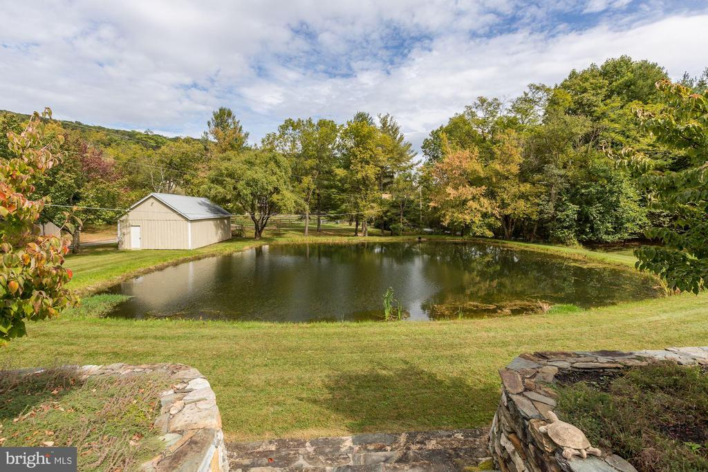 View from stone steps - 8730 FOX GAP RD, MIDDLETOWN