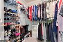 2 Walk-in Closets - 1507 SHIELDS TER NE, LEESBURG
