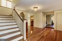 Main staircase to bedrooms - 8730 FOX GAP RD, MIDDLETOWN