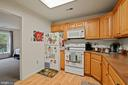 Apartment full kitchen and separate laundry room - 8730 FOX GAP RD, MIDDLETOWN