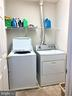 Laundry room in upper level - 1913 MORAN DR, FREDERICK