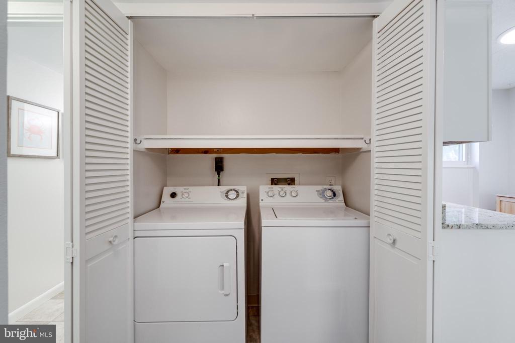 Laundry Closet - 5160 MARIS AVE #100, ALEXANDRIA