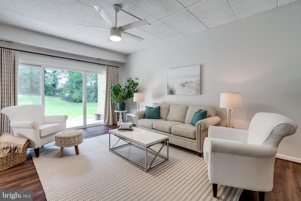 Living Room - 5160 MARIS AVE #100, ALEXANDRIA