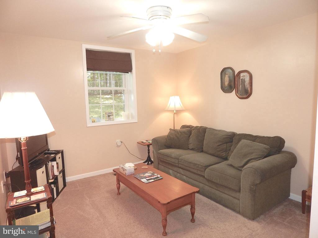 Second of 2 Bedrooms on main level - used as Den - 6012 BATTLEFIELD GREEN DR, FREDERICKSBURG