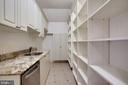 Walk-in Pantry - 7853 LANGLEY RIDGE RD, MCLEAN