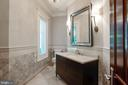 One of Two Main Level Powder Rooms - 7853 LANGLEY RIDGE RD, MCLEAN