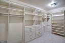 Walk-in Closet - 7853 LANGLEY RIDGE RD, MCLEAN