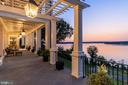 Sunrise on the terrace - 7979 E BOULEVARD DR, ALEXANDRIA