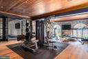 Full home gym with water views - 7979 E BOULEVARD DR, ALEXANDRIA