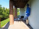 View from covered back paver patio - 2480 POTOMAC RIVER BLVD, DUMFRIES