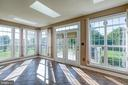 Breakfast room w/ french doors to deck - 116 CHRISWOOD LN, STAFFORD