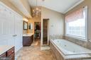 Separate vanities & amazing oversized shower - 116 CHRISWOOD LN, STAFFORD
