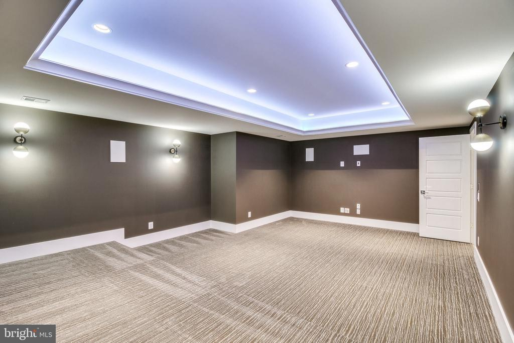 Theater Room - 11705 VALLEY RD, FAIRFAX