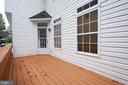 Side Porch - 5517 SOUTHWICK ST, BETHESDA
