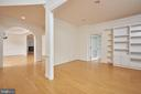 Formal Living Room - 5517 SOUTHWICK ST, BETHESDA