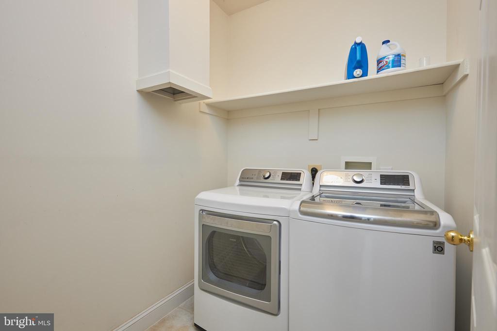 Laundry Room - 5517 SOUTHWICK ST, BETHESDA