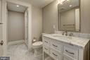 Lower Level Bathroom - 216 8TH ST NE #1, WASHINGTON