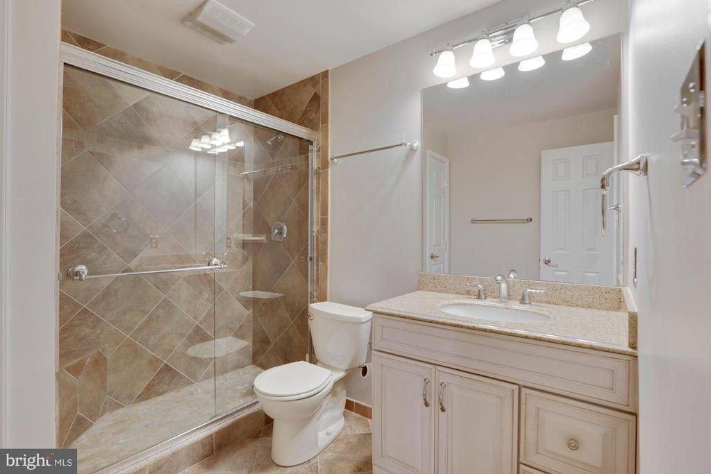 Full bath and basement - 43121 FLING CT, BROADLANDS