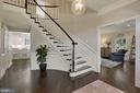 New wood floors - 43121 FLING CT, BROADLANDS