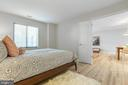 Spacious Bedroom with double doors - 1050 N STUART ST #126, ARLINGTON