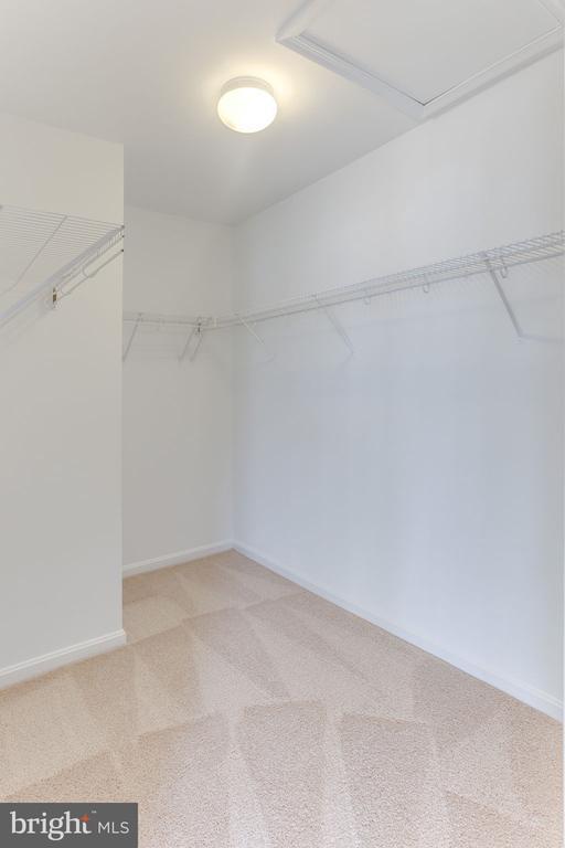 Huge Walk-in Closet in Owner's Suite - 21871 HAWKSBURY TER, BROADLANDS