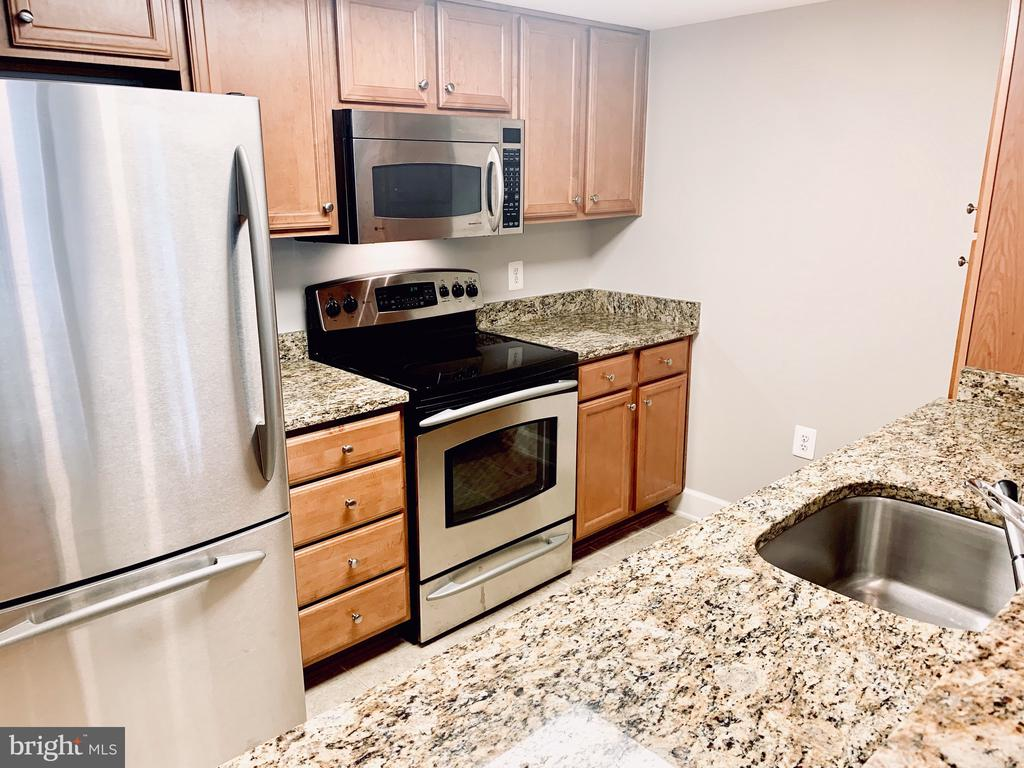 Bright and inviting cozy kitchen - 11800 SUNSET HILLS RD #311, RESTON