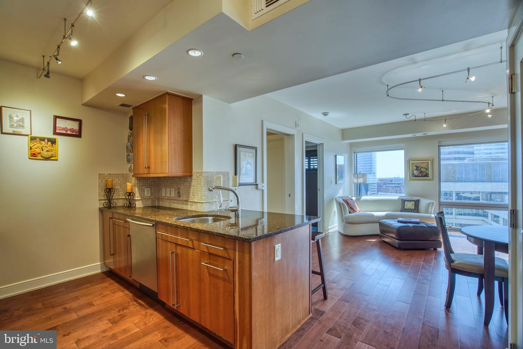 Enter in awe... Windows, floors, details... - 1111 19TH ST N #1805, ARLINGTON