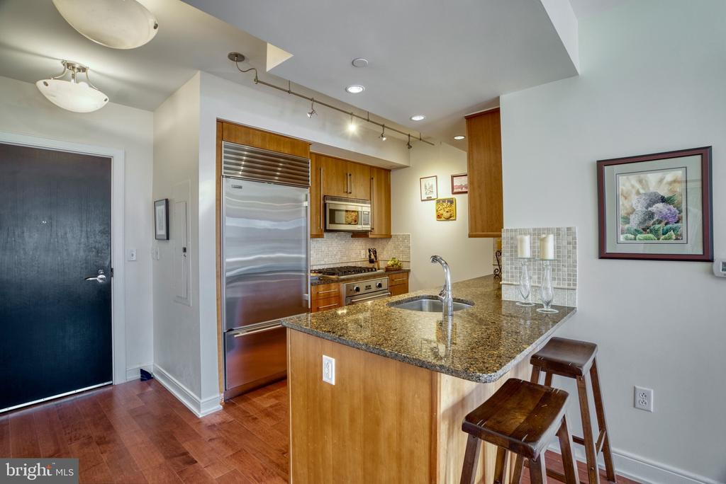 Gourmet kitchen! - 1111 19TH ST N #1805, ARLINGTON