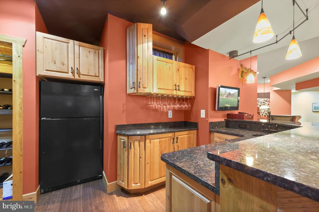 Lower Level Wet Bar with Wine Cellar - 12904 & 12898 SAGLE RD, HILLSBORO