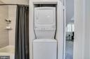 Stacked Washer/Dryer - 1823 N UHLE ST #1, ARLINGTON
