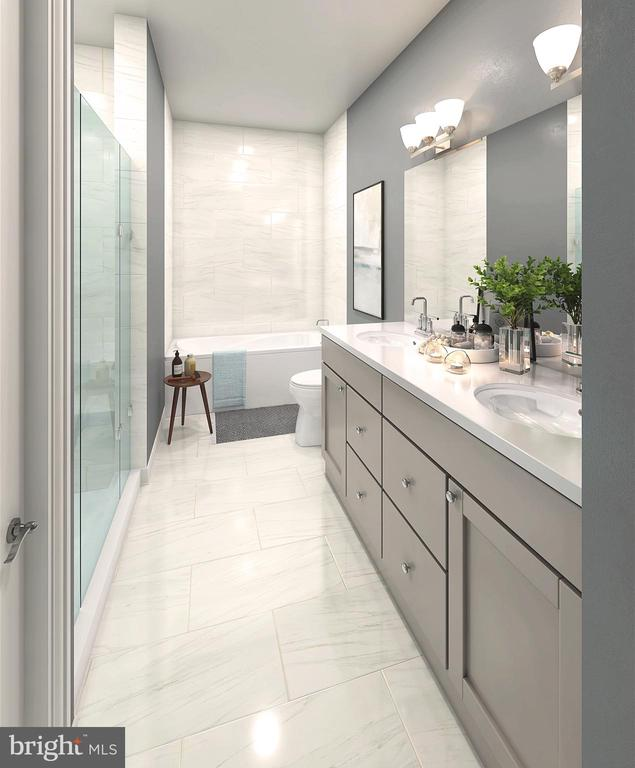 SAMPLE RENDERING - OWNER'S BATH w/ upgrades - 01 SHIRE MEADOW, DUMFRIES