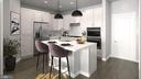SAMPLE RENDERING -KITCHEN w/ upgrades - 01 SHIRE MEADOW, DUMFRIES