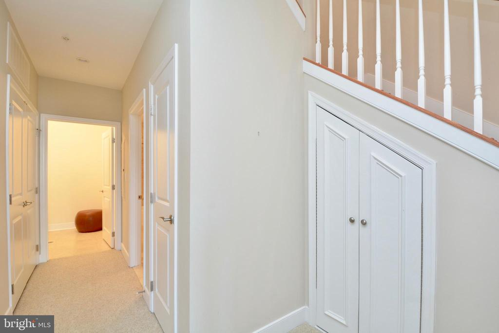 Custom-built under stair storage - 1418 N RHODES ST #B410, ARLINGTON