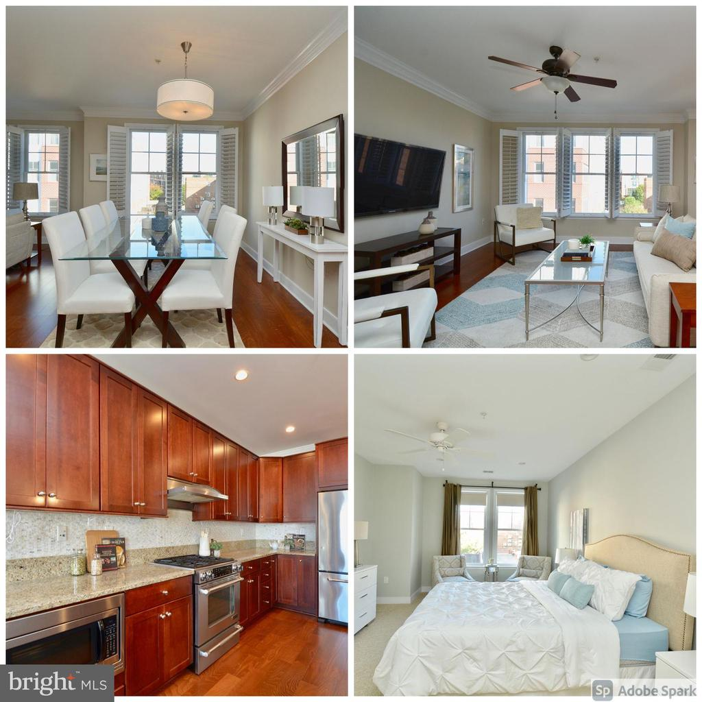 Gorgeous, sun-filled condo with open floor plan - 1418 N RHODES ST #B410, ARLINGTON