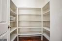 Large walk-in pantry - 81 FOUNTAIN DR, STAFFORD