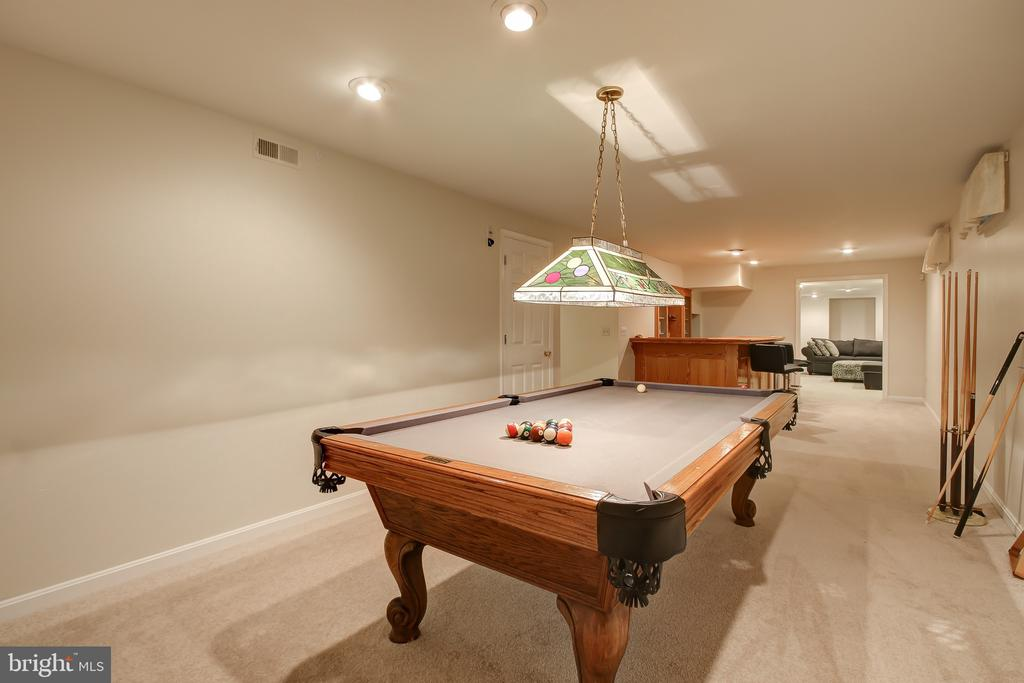 Rec Room - 3749 HETTEN LN, WOODBRIDGE