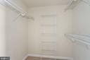 Primary Bedroom Walk-in Closet - 851 N GLEBE RD #1117, ARLINGTON